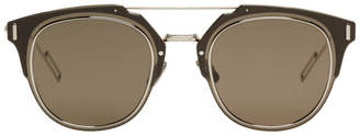 Christian Dior Silver Composit 1.0 Sunglasses