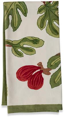 Couleur Nature Fig Cotton Tea Towel (Set of 3)