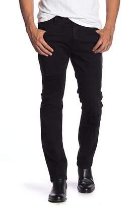 Helmut Lang Distressed Solid Skinny Jeans