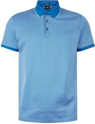 HUGO BOSS Prout Jacquard Polo Shirt