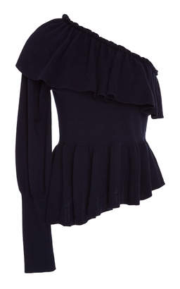 Ulla Johnson Eden Ruffled One Shoulder