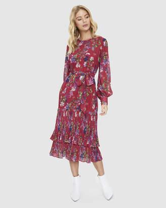 Cooper St Elements Long Sleeve Midi Dress
