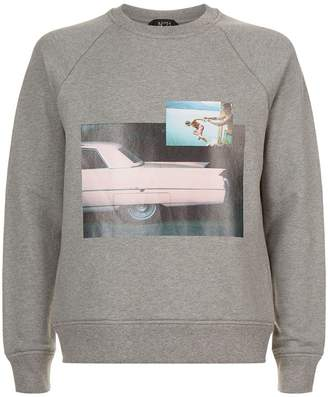 N°21 Photo Print Sweatshirt