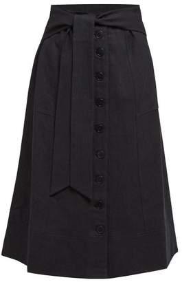 Sea Izzy Cotton Blend Skirt - Womens - Black