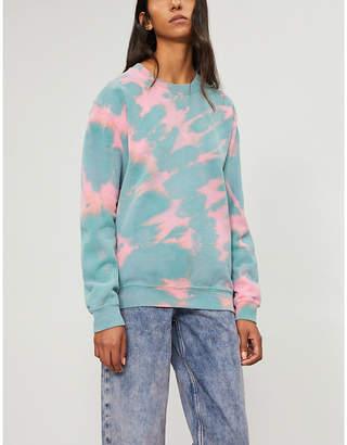 RAGYARD Tie-dye jersey sweatshirt