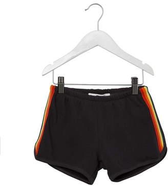 Spiritual Gangster Rainbow Stripe Shorts