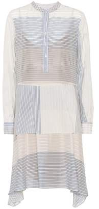 Stella McCartney Striped cotton and silk dress