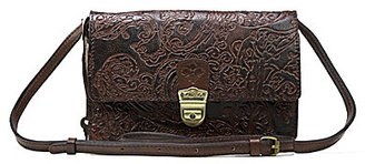 Patricia Nash Burnished Tooled Lace Collection Lanza Convertible Cross-Body Bag $159 thestylecure.com