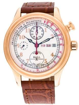 Ball Trainmaster Doctor's Chronograph Watch