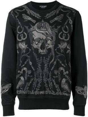 Alexander McQueen Treasure Skull sweatshirt