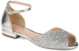 Journee Collection Womens Verona Pumps Peep Toe Block Heel