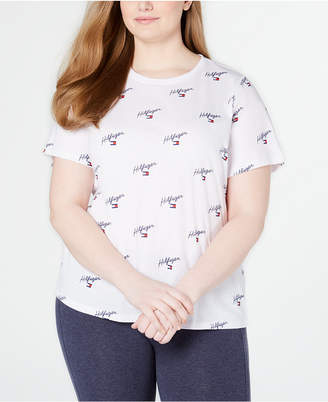 Tommy Hilfiger Plus Size Printed T-Shirt