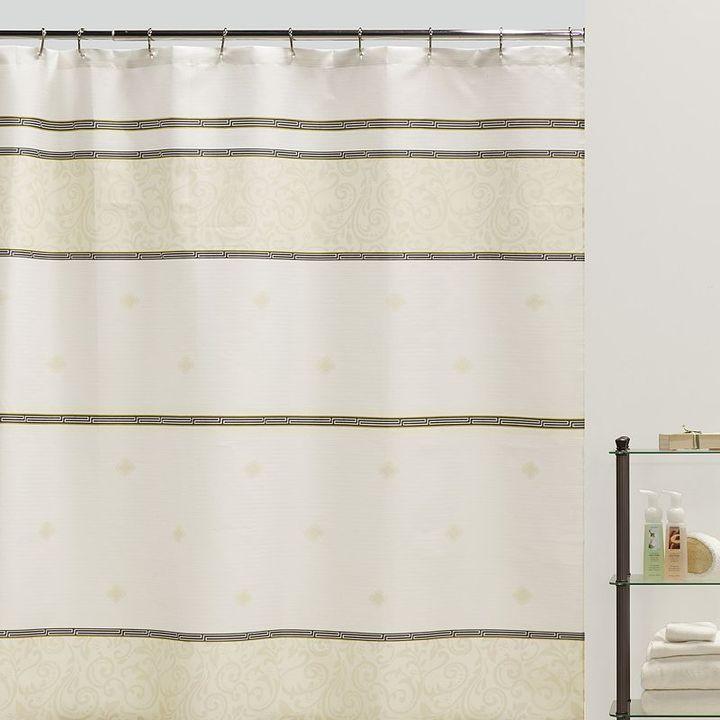 Creative bath seville fabric shower curtain