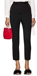 Lanvin Women's Wool Slim Trousers - Black