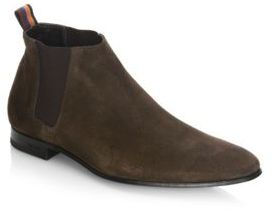 Paul Smith Marlowe Suede Chelsea Boots $425 thestylecure.com