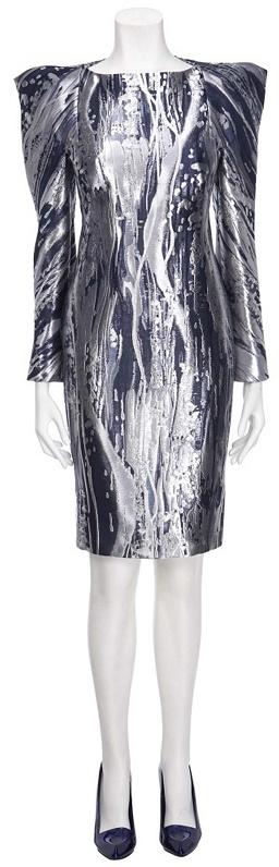 Dripping Metal Dress