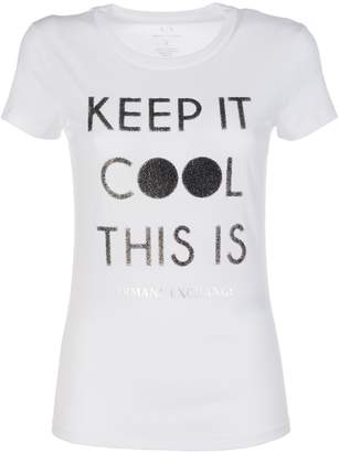 Armani Collezioni Keep It Cool This Is Ax T-shirt