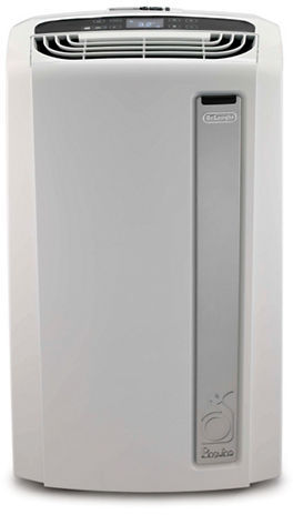 Delonghi Pinguino 14, 000 BTU Whisper Quiet Portable Air Conditioner with Heat Pump and BioSilver Air Filter