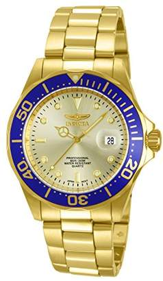 Invicta Men's 14124 Pro Diver Dial 18k Ion-Plated Stainless Steel Watch