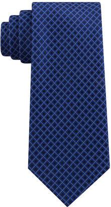 STAFFORD Stafford Dotted Grid Xl Tie
