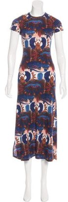 Jean Paul Gaultier Printed Midi Dress $180 thestylecure.com
