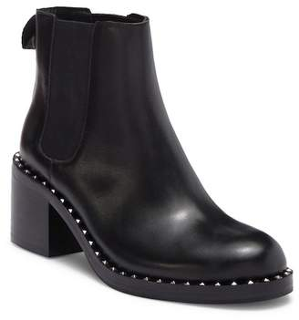 Ash XOX Leather Studded Heeled Chelsea Boot