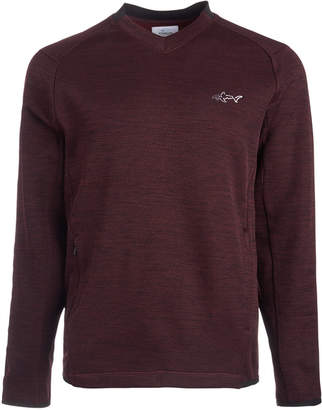 Greg Norman Attack Life by Men Herringbone Double Zip Sweater