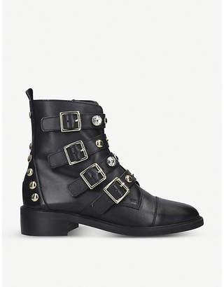 Carvela Saucy leather biker boots
