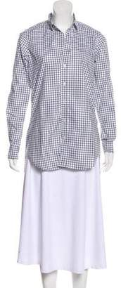 Frank And Eileen Long Sleeve Button Up Top
