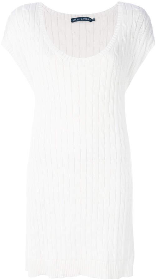 Ralph Lauren cable knit mini dress