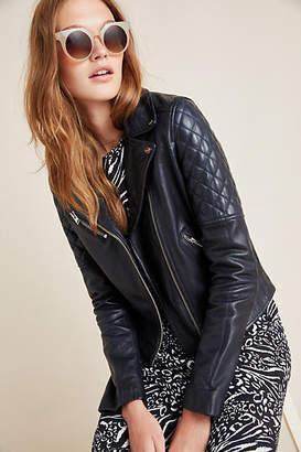 LAMARQUE Marilla Leather Moto Jacket