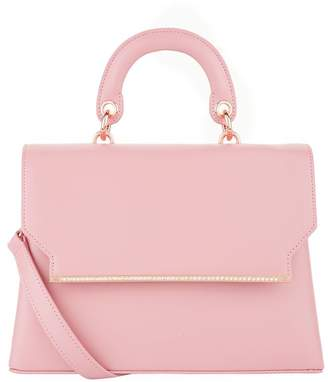 Ted Baker Leather Maxxine Top Handle Bag