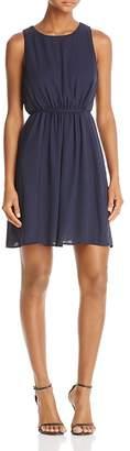 AQUA Tie Waist Dress - 100% Exclusive $88 thestylecure.com