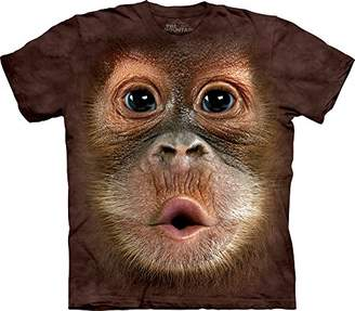The Mountain Men's Big Face Baby Orangutan T-Shirt