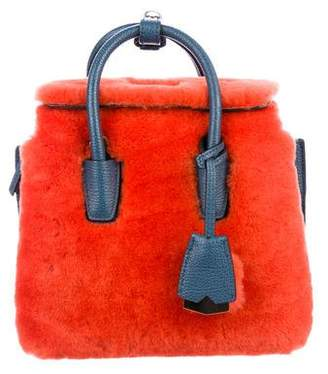 MCM Faux Fur Crossbody Bag