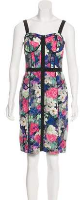 Rebecca Minkoff Floral Print Knee-Length Dress