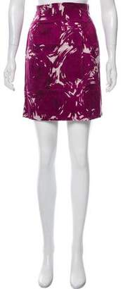 Theory Silk Knee-Length Skirt