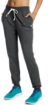 Women's Champion French Terry Jogger Pants $30 thestylecure.com