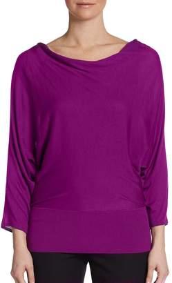 Josie Natori Women's Cutout-Back Sweater