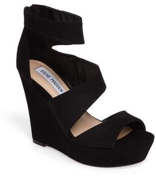 Steve Madden Essey Asymmetrical Platform Wedge Sandal