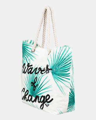 Roxy Waves Of Change Reversible Recycled Beach Bag