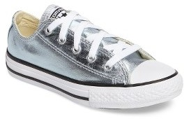 Toddler Girl's Converse Chuck Taylor All Star Ox Metallic Low Top Sneaker $39.95 thestylecure.com