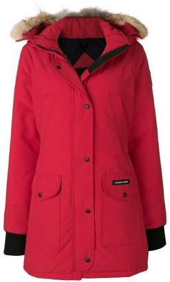 Canada Goose mid-length parka coat
