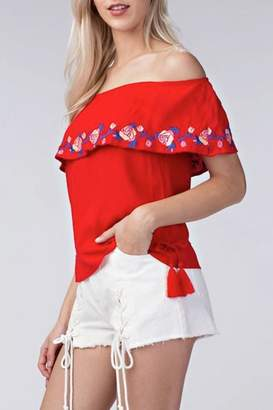 Yipsy Off Shoulder Top