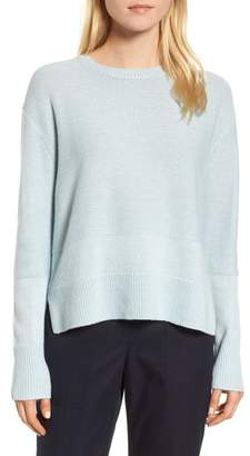 Nordstrom Signature Linen & Cashmere Sweater