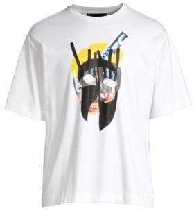 Diesel Black Gold DBG Cotton Graphic Tee