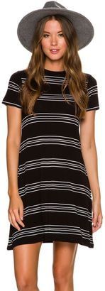 Element Knit Stripe Dress $44.95 thestylecure.com