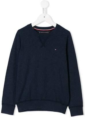 Tommy Hilfiger Junior embroidered logo sweater