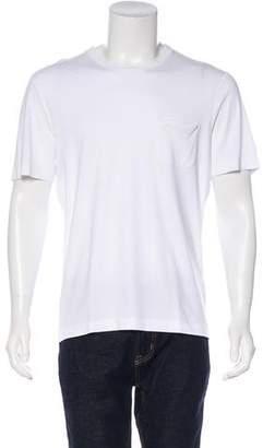 Louis Vuitton Woven Crew Neck T-Shirt