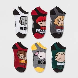 HYP Women's Harry Potter 6pk Low Cut Socks - One Size
